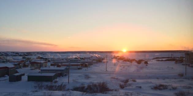 Au Nunavik, plus de 90 % du parc immobilier est constitué de logements sociaux.
