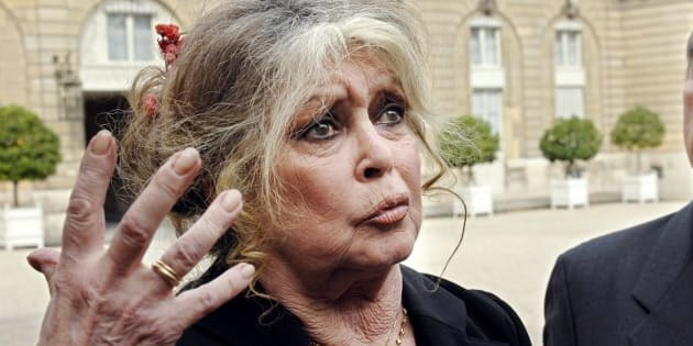 """Pour Bardot (ici à l'Élysée en 2007), Macron et son gouvernement """"sont à genoux devant les chasseurs"""""""