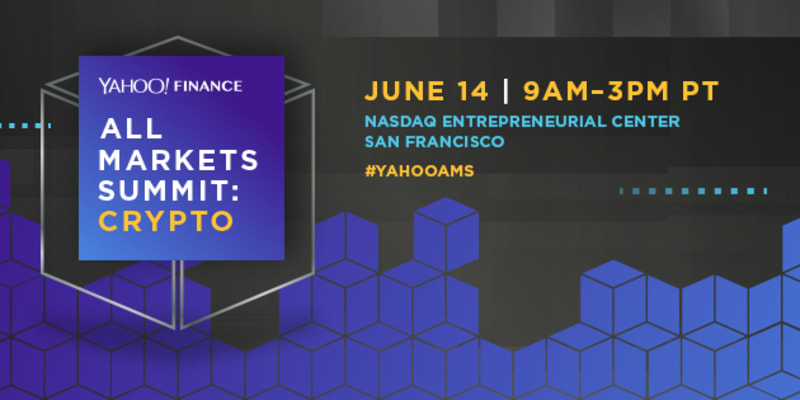 Watch the Yahoo Finance All Markets Summit: Crypto, Live from San Francisco