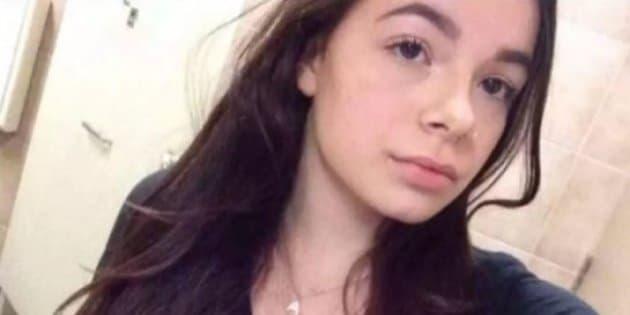Athena Gervais a été trouvée morte dans un ruisseau le 1er mars 2018.