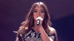La prestation d'Alma à l'Eurovision