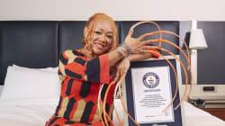 Records Guinness 2018: de très longs ongles, cils, et