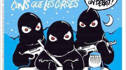 カタルーニャ独立派を風刺した仏誌シャルリー・エブドの1面、スペインで賛否両論