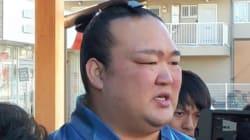 稀勢の里、休場へ 九州場所4連敗「右ひざを痛めた」