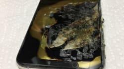 ポケットに入れていたiPhone XS Maxが燃える?