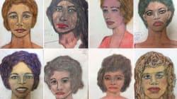Un asesino serial dibujó a sus víctimas; ahora las autoridades deben