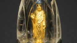 「水晶に入った仏像」は、快慶の工房の作品か?