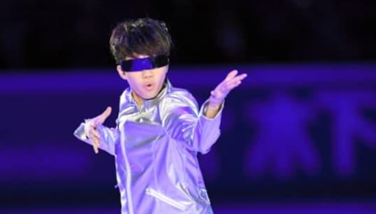 友野一希が「ロボットダンス」を披露。フィギュア・ロシア杯のエキシビション