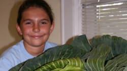 9歳の時、庭にできた巨大キャベツを見て、飢えに苦しむ人を救うNPOを作った女性がいる