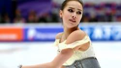 ザギトワが世界最高で首位発進、白岩は5位 ロシア杯女子SP