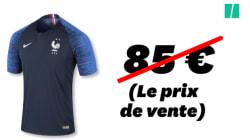 Combien coûte vraiment la fabrication du maillot des Bleus aux deux