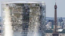 """エッフェル塔が""""巨大な鏡""""で逆さまに?パリ高層ビルの改修計画案がすごい"""