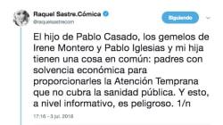 La reflexión viral sobre el nacimiento de los hijos de Iglesias y Montero que da que