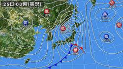 クリスマスは北日本を中心に冬の嵐 夜にはぐっと冷え込む