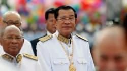 カンボジア フン・セン首相、有力人権団体