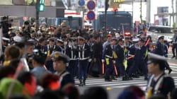 渋谷・ハロウィーンの軽トラ横転 10人書類送検へ