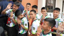 タイ洞窟、救出の少年ら4人無国籍、付与の手続きへ