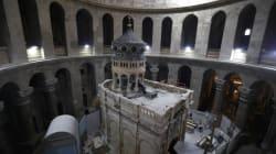 Découverte importante sur le site du tombeau de Jésus-Christ à