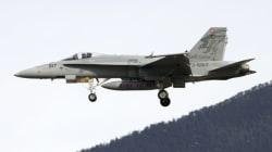 アメリカ海軍のFA18戦闘機、那覇沖に墜落 搭乗者は無事