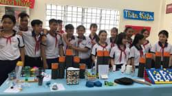 ベトナムで広がる参加型環境教育/カント市の中学・高校で活動