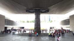 El gran baño que le darán a la fuente del Museo Nacional de