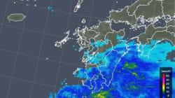 梅雨入り早々、屋久島で激しい雨が降る