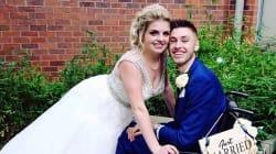 À son mariage, il apprend à tout le monde qu'il ne mourra finalement