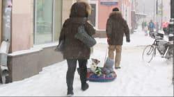 La météo vous inquiète? La tempête de neige qui a paralysé Moscou va vous faire