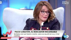 El 'dardo' de Paco Lobatón a Toñi Moreno por su