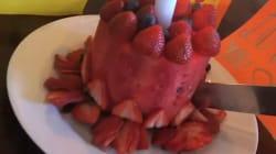 Le gâteau d'anniversaire de Victoria Beckham est très