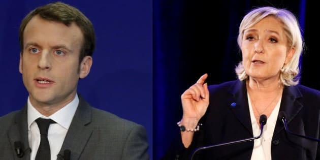 Vers un second tour Le Pen-Macron à la présidentielle.