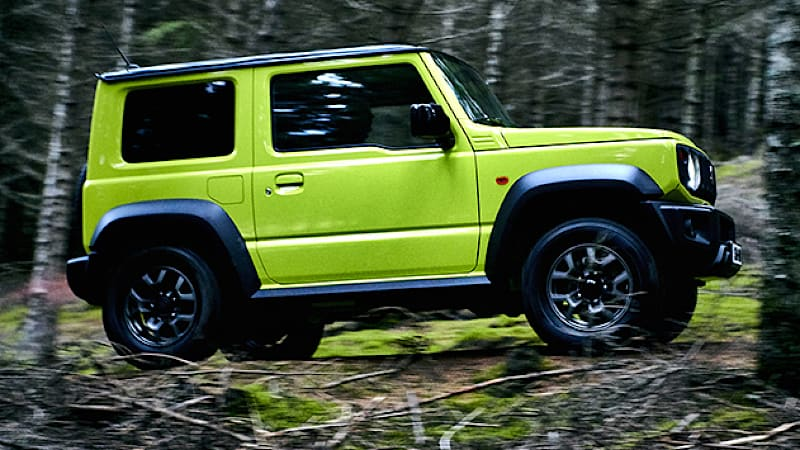 Jeep Certified Pre Owned >> 2019 Suzuki Jimny gets 1.5-liter engine for export markets - Autoblog