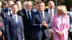 Macron salue les