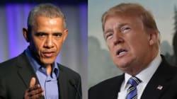 Donald Trump recupera tuit de Obama para insistir sobre el