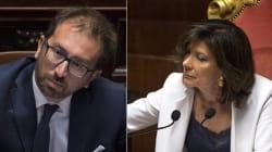 Casellati bacchetta Bonafede:
