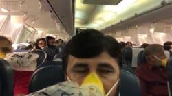 66 passeggeri di un aereo perdono sangue da naso e orecchie: colpa di un errore dei