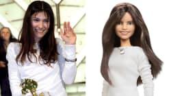 Elisa diventa una Barbie: