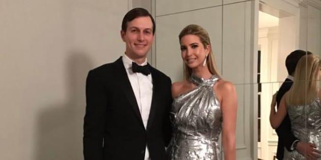 Ivanka Trump et son époux Jared Kushner dimanche 29 janvier.