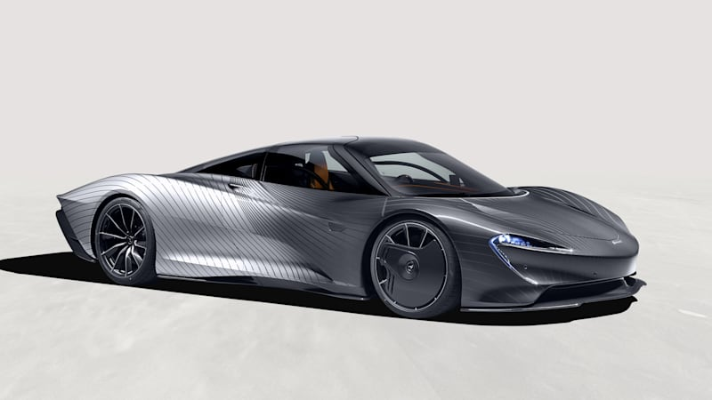 McLaren Speedtail 'Albert' hat eine Lackierung, die Sie unbedingt sehen müssen