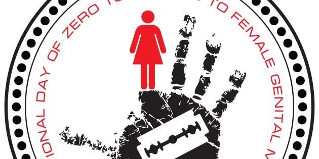 Stamp Stop. International Day of Zero Tolerance to Female Genital Mutilation.