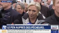 Le Pen dément avoir distribué des sifflets pour perturber la visite de