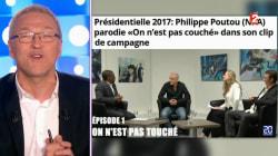 Ruquier réagit au clip de campagne de Poutou: