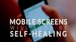 Cellphone Screens Will Soon Be