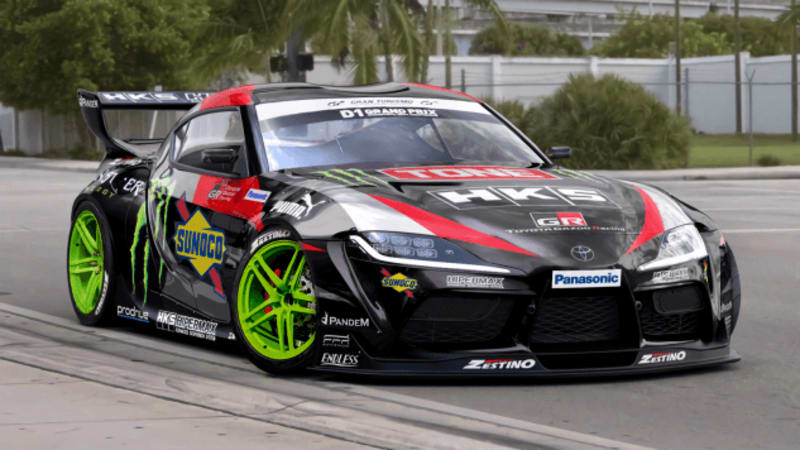 Check Out This 2jz Equipped 2020 Toyota Supra Drift Car Autoblog