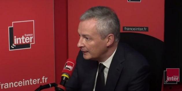 Bruno Le Maire exclut d'en finir avec la revalorisation automatique du Smic