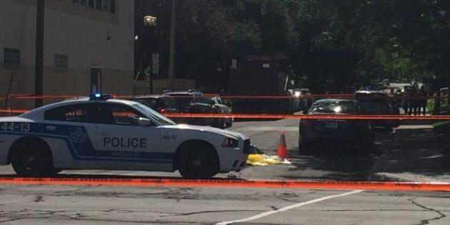 Un cycliste happé mortellement par un poid lourd à Montréal
