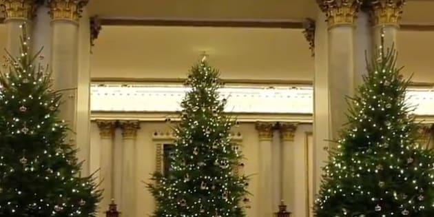 Decorazioni di Natale a Buckingham Palace