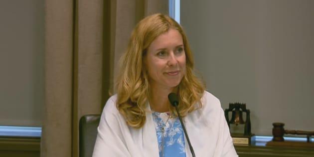Julie Lemieux a annoncé qu'elle ne sollicitera pas de troisième mandat.