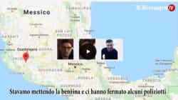 L'audio dell'ultimo messaggio degli italiani spariti in