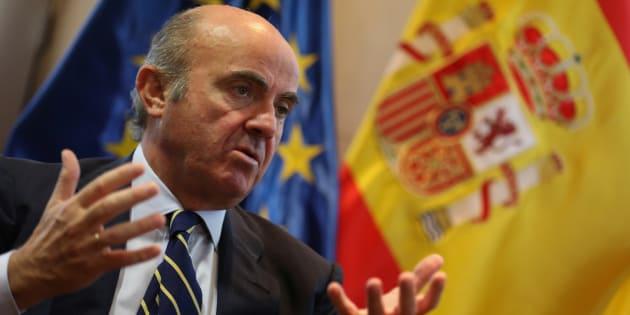 Luis de Guindos, ministro de Economía. REUTERS/Sergio Perez
